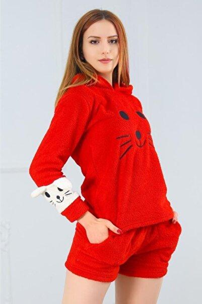 Lukas Şortlu Peluş Takım Kırmızı - 11798.1049.
