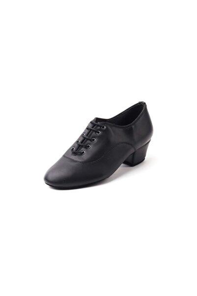 DANS AYAKKABISI Kadın Siyah Klasik Topuklu Ayakkabı