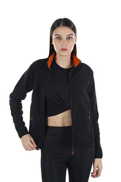 Diandor Kadın Siyah Polar Hırka 7002 21w42007002