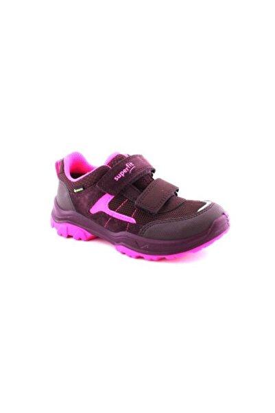 Superfit Çocuk Cırtlı Gore-tex Spor Ayakkabı, Pembe/bordo