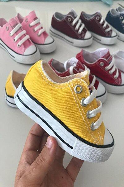 TREND Keten Çocuk Ayakkabı Sarı