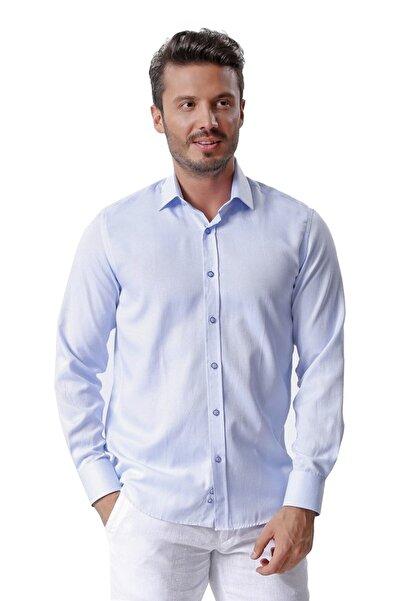 Ottomoda Erkek Uzun Kollu Desenli Gömlek