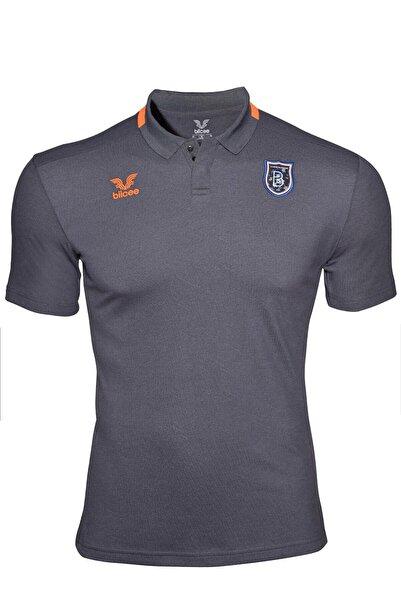İstanbul BFK Store Erkek Antrasit Polo Yaka T-shirt