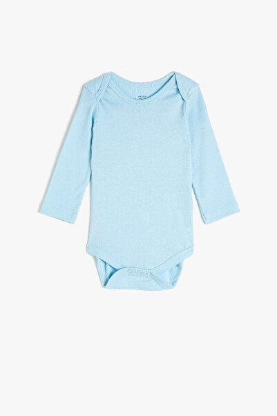 Koton Kids Mavi Erkek Bebek Bebek Body & Zıbın