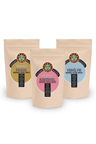 Kahve Dünyası 3'lü Aromalı Filtre Kahve Van Fın  Kar