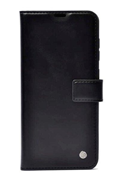 MobilCadde Samsung Galaxy S20 Fe Kapaklı Cüzdanlı Siyah Deri Kılıf