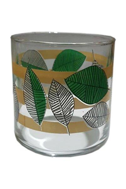 Sigma Pary Yaprak Desenli 6'lı Su Bardağı