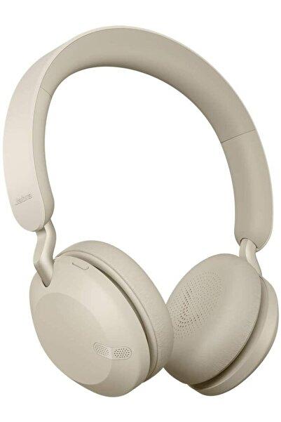Jabra Elite 45h Kablosuz Kulaküstü Bluetooth Kulaklık Gold Bej
