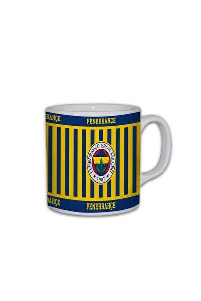 Kitchenaid Lisanslı Seramik Fenerbahçe Kupası Sarı Lacivert Tım-0011