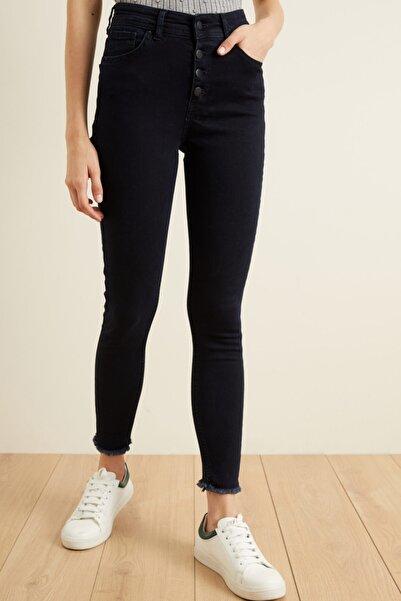 adL Kadın Lacivert Skinny Jean Pantolon