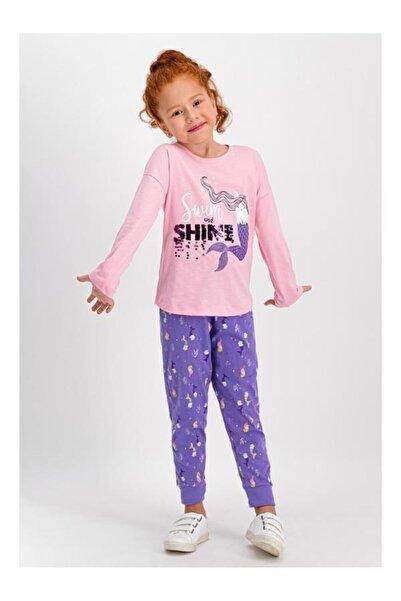 ROLY POLY Swim Shine Açık Pembe Kız Çocuk Pijama Takımı Rp1742-1