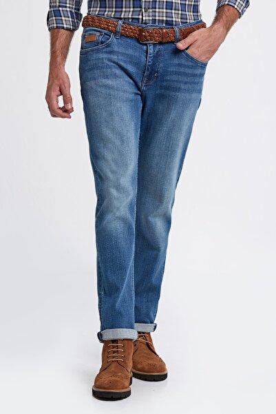 Hemington Erkek Mavi Denim Pantolon