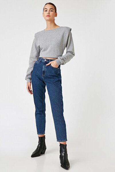 Koton Kadın Mıd Indıgo Jeans 1KAK47091MD
