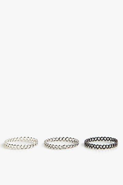 Koton Kadın Gümüş Bijuteri Yüzük 0YAL70849AA