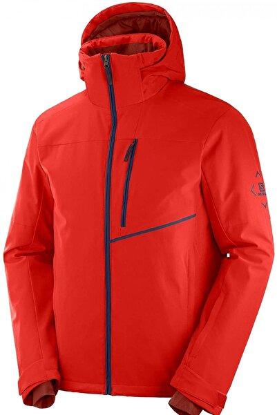 Salomon Erkek Kırmızı Blast Kayak Ceketi