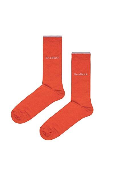 Bad Bear Pıgment Turuncu Uzun Çorap
