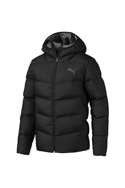 Puma Erkek Siyah Essentials 400 Down Hooded Jacket Mont