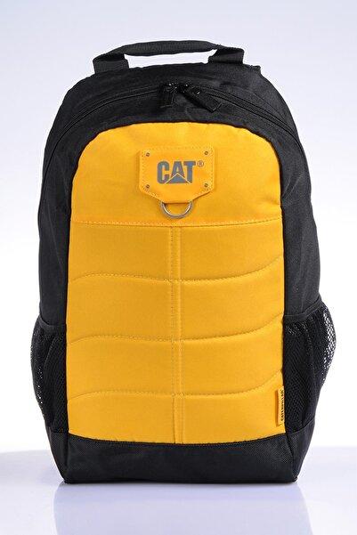 Cat Ct83431-12 Sarı Unısex Sırt Çantası