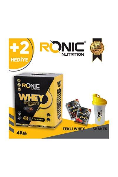 Ronic Nutrition Whey 4 Kg Protein Tozu Aromalı Çikolata Aromalı