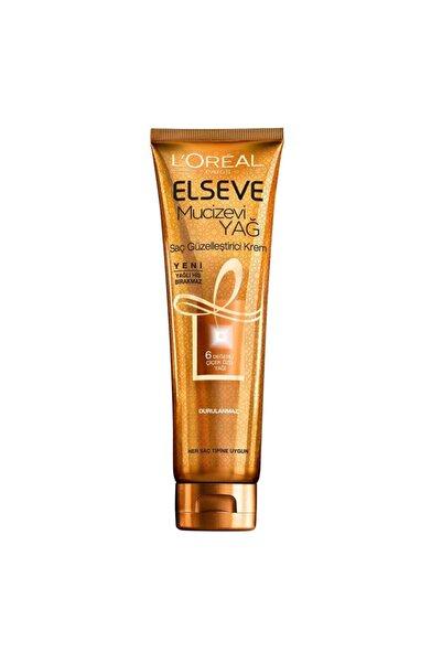 L'Oreal Paris L'oréal Paris Elseve Mucizevi Yağ Saç Güzelleştirici Krem 150 Ml
