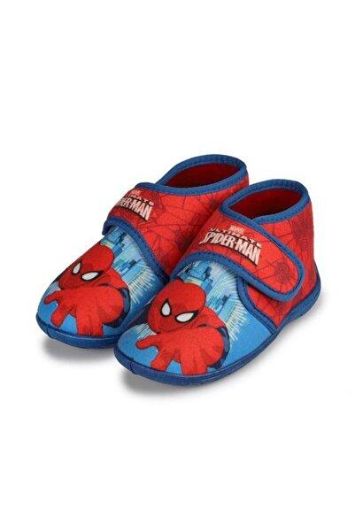 Hakan Çanta Panduf Lisanslı Spiderman 26 Numara Fermuarlı Ev Ve Anaokulu Ayakkabısı Little Pati Renkli