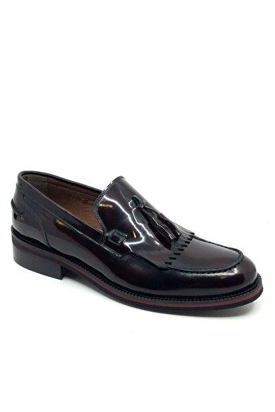 Fosco Erkek Bordo Rugan  Ayakkabı 6080 966