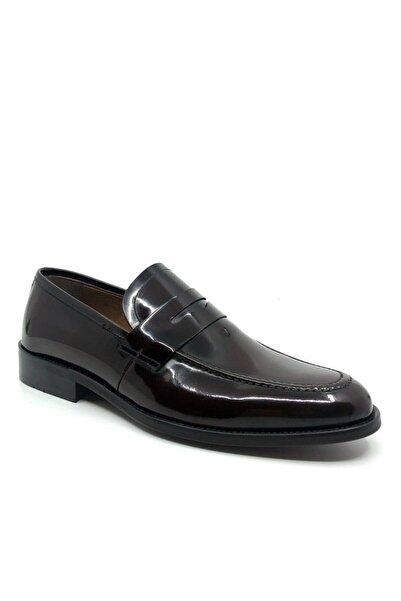 Fosco Erkek Bordo Hakiki Deri  Klasik  Ayakkabı 2005 966