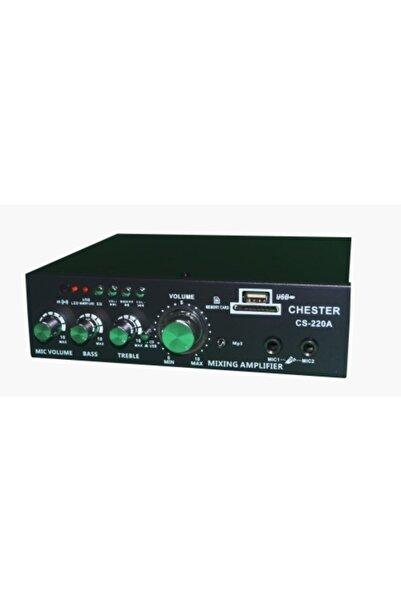 Chester Konsept Cs-220a 2x40w Ac220v 12v Trafosuz Usb/sd Anfi Bluetooth