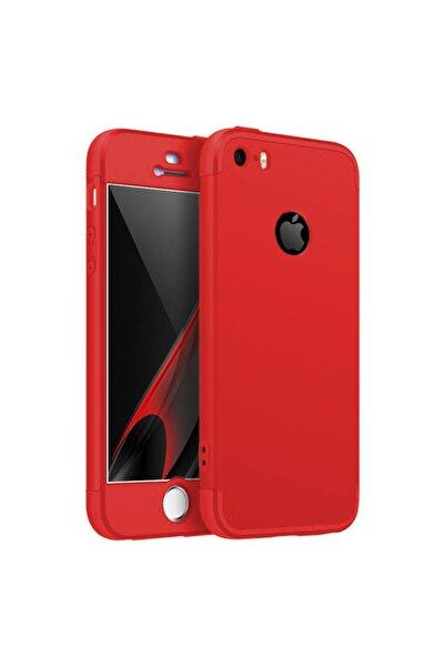 Microsonic Microsonic Iphone Se Kılıf Double Dip 360 Protective Kırmızı