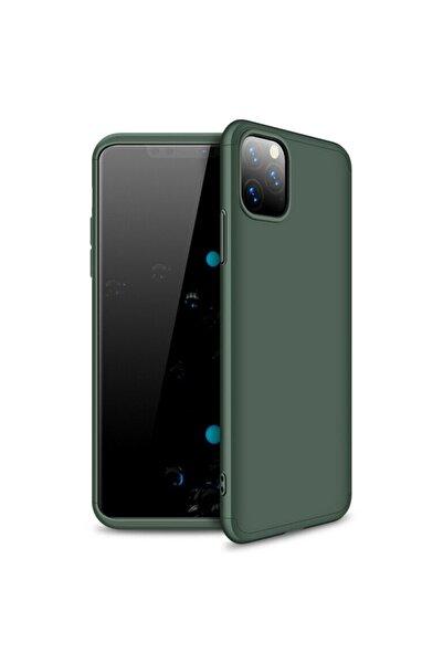 Microsonic Microsonic Iphone 11 Pro Max Kılıf Double Dip 360 Protective Yeşil