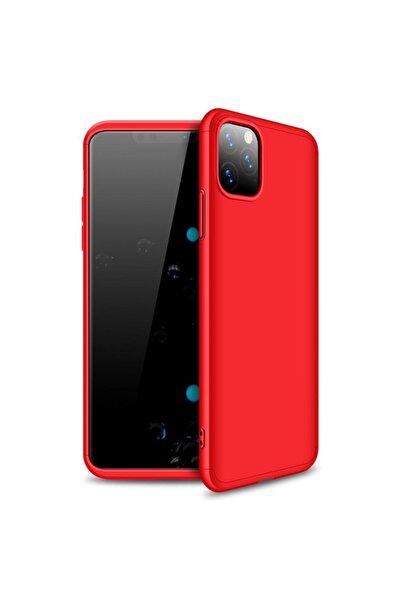 Microsonic Microsonic Iphone 11 Pro Kılıf Double Dip 360 Protective Kırmızı