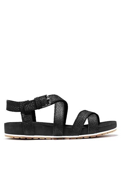 Timberland Kadın Siyah Sandalet A2atk