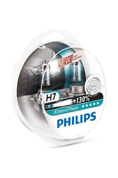 Philips H7 X Treme Vision +130 Uzun Mesafe Aydınlatma Ampul Seti