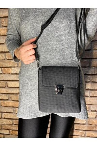 Kadın Siyah Çapraz Omuz Çanta