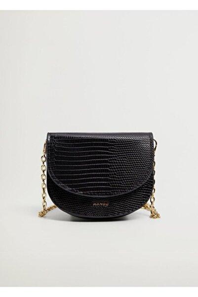 MANGO Woman Zincirli Mini Çanta
