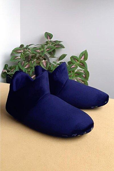 GEZER Erkek Lacivert Panduf Ev Ayakkabısı