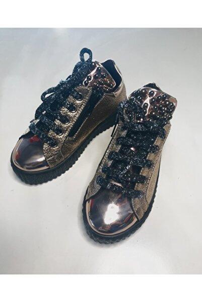 Sema Kız Çocuk Incili Kalın Tabanlı Sneaker Ayakkabı