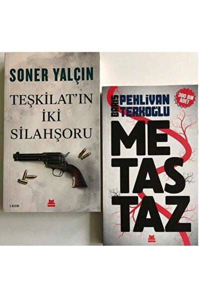 Kırmızı Kedi Yayınları Teşkilat'ın Iki Silahşoru Ve Metastaz Seti + 1 Kitap Hediye