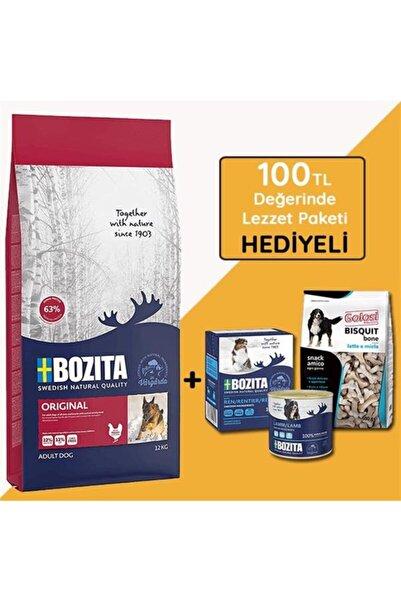 Bozita Naturals Original Tavuklu Yetişkin Köpek Mamasi 12 Kg (hediyeli)