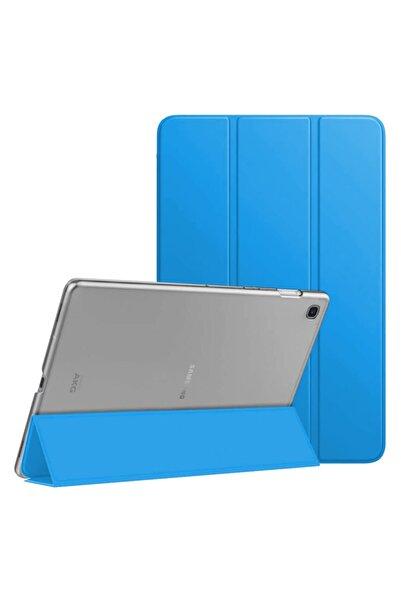 "Microsonic Microsonic Galaxy Tab S6 Lite 10.4"" P610 Kılıf Slim Smart Cover Mavi"