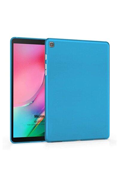 "Microsonic Microsonic Galaxy Tab A 8"" 2019 T290 Kılıf Glossy Soft Mavi"