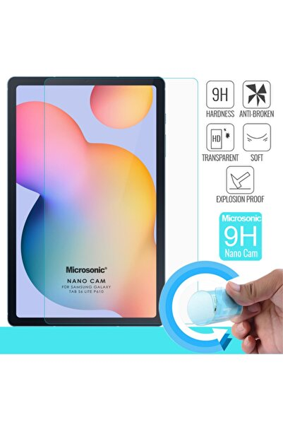 "Microsonic Microsonic Galaxy Tab S6 Lite 10.4"" P610 Nano Glass Screen Protector"