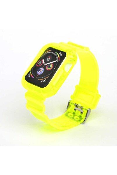 zore Silikon Kordon Apple Watch 44mm Krd-27