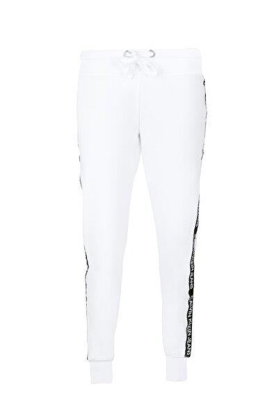 Calvin Klein Kadın Beyaz Eşofman Altı Cj0p3035-whı
