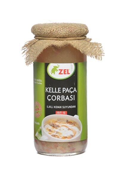 Zel Kelle Paça Çorbası 480 ml-6 Adet Ilikli Kemik Suyundan