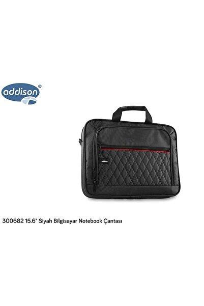 ADDISON 300682 15.6 Siyah Bilgisayar Notebook Çantası