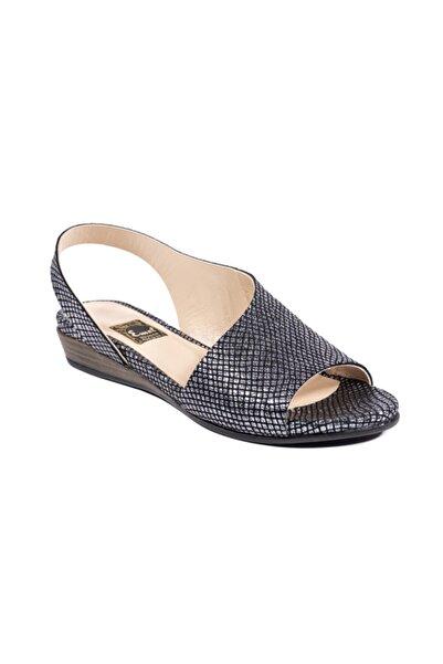 Emel Ayakkabı Kadın Bronz Günlük Modern Rahat Tarz Sandalet
