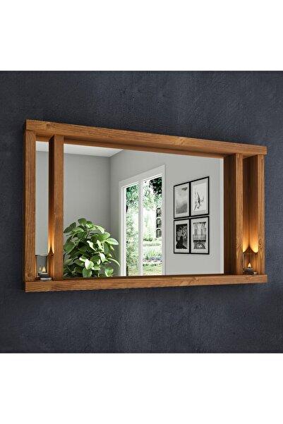 222 Concept Dream Masif Ağaç Tik Renk 90x50 Cm Ayna Cpt2318-90