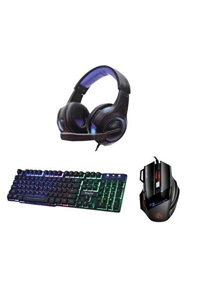 Piranha Gaming Set (kulaklık + Mouse + Klavye)