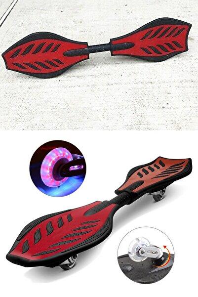 xolo Işıklı Taşıma Çantalı Şeytan Kaykay 2 Tekerlekli Ripstik Kay Kay Waveboard Taşıma Çantalı